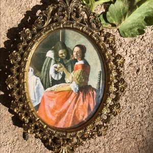 Strange antique dutch painting